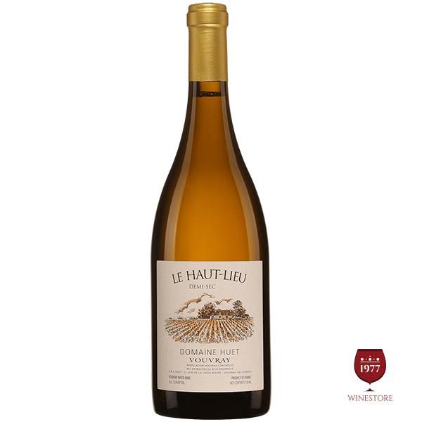 Rượu Vang Pháp Domaine Huet Vouvray Le Haut Lieu