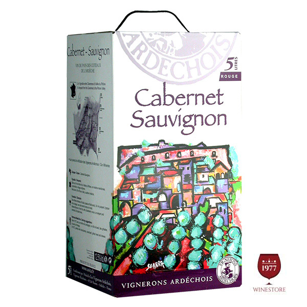 Rượu Vang Bịch Vignerons Ardechois Cabernet Sauvignon