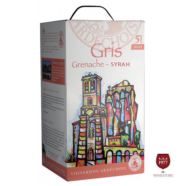 Rượu Vang Bịch Vignerons Ardechois Grenache – Syrah
