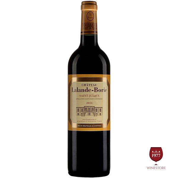 Rượu Vang Pháp Chateau Lalande Borie